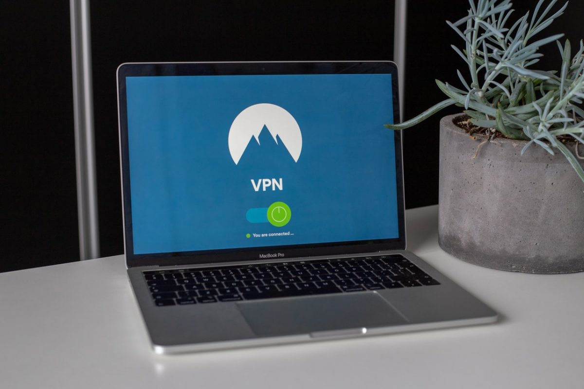 VPN-on-laptop